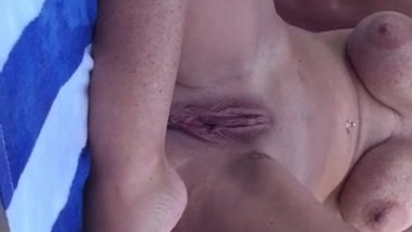 KATHERINE BROWN... Chilling outdoors butt ass naked
