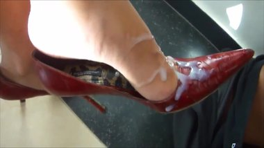 Cum on Shoes Heels Compil - LoversHeels@Pornhub