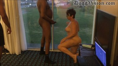 Cuckold Wife Services Bulls in Window