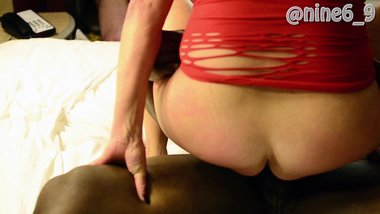 hot wife riding my bbc while cuck hubby watched and jerked off