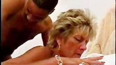 Sexy Mature Busty Blonde Cougar Works Over Bbc black ebony cumshots ebony