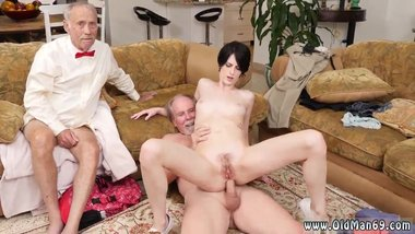 Old teacher gets blowjob and old milf pov and old guy licking pussy and