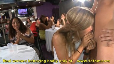 Hyped Chicks Go Dick Crazy At Naughty Party As Husbands Stay Indoors