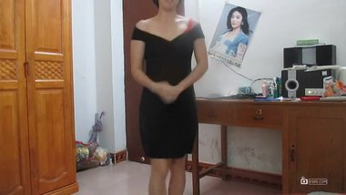 Chinese milf square dance 1