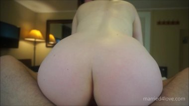 Loving Wife Sucks and Rides Cock POV