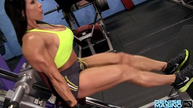Denise Masino Workout with Me