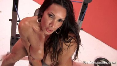 Denise Masino Naked Workout pt1
