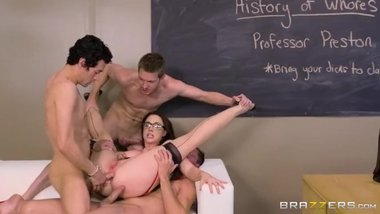 Chanel Preston - Free-For-All Fuck Lessons - Big Tits At School