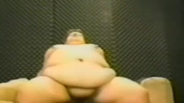 Vintage big tummy bbw slut