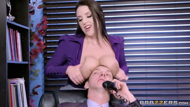 Brazzers - Angela the horny Office Slut