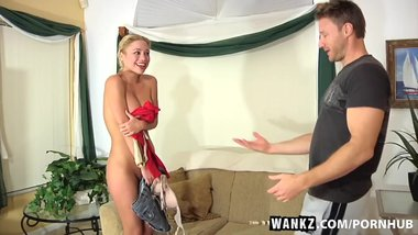 WANKZ- Fresh Newbie Victoria White Gets Duped and Fucked