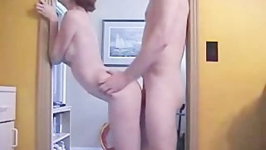 Standing Doggystyle Wife Fuck