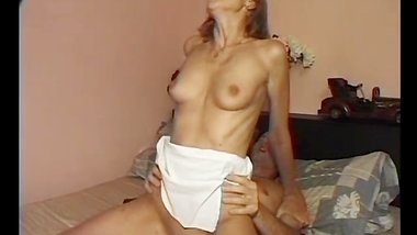 Skinny babe gets her ass destroyed