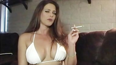 Logan rivers Smoking and Teasing